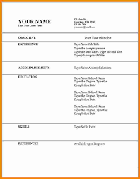 8 Cv Formats Samples For Students Theorynpractice