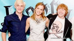 But this story, is reserved for… Emma Watson Updates Tom Felton Bumps Into Emma Watson Rupert Grint Can See Feltson Happening
