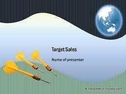 Target Sales Template