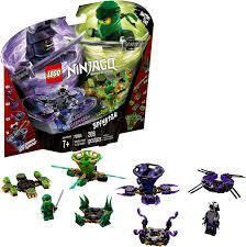 Amazon.com: LEGO NINJAGO Spinjitzu Lloyd vs. Garmadon 70664 Building Kit  (208 Pieces) (Discontinued by Manufacturer): Toys & Games