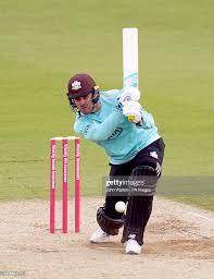 Surreys Jason Roy batting during the ...