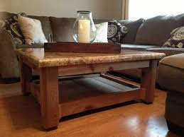 A long oval coffee table: Granite Top Coffee Table Ideas On Foter
