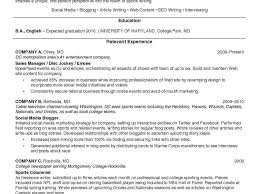 Journalism Resume Sample Student Journalist Examples Template