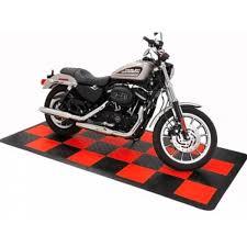 Motorcycle Display Stand Motorcycle Display Floor Mat Stand with DIY interlocking floor 86
