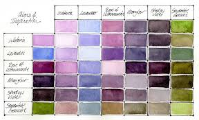 Color Blending Chart Color Mixing Charts How To Make Them And Why Daniel