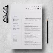 New Cv Template Resume Template Minimalist Professional Cv Design Resume Template Instant Download Word Executive Assistant Resume