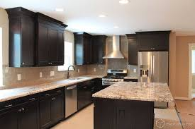 Full Size Of Kitchen:contemporary Black Kitchen Black Kitchen Cabinets  Lowes Contemporary Black Kitchen Cabinets ...