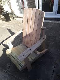 pallet adirondack chair plans. Standard Pallet Adirondack Chair Made Using Jigsaw! Plans