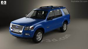 360 view of Ford Explorer 2006 3D model - Hum3D store