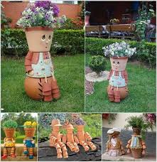 Pot Decoration Designs 100 Awesome Decoration Ideas with Clay Pots 53