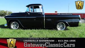 Truck chevy 1955 truck : 1955 Chevrolet Cameo Pickup | Gateway Classic Cars | 1656-LOU