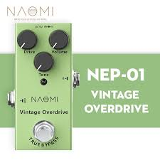 <b>NAOMI</b> Electric <b>Guitar Effect Pedal</b> Vintage Overdrive <b>Pedal</b> Mini ...