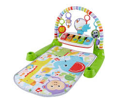 fisher deluxe kick play piano gym