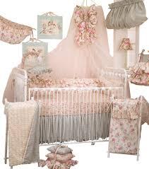 rose crib bedding designs
