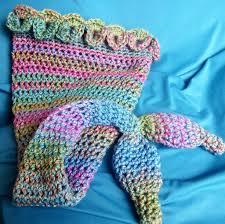 Mermaid Blanket Crochet Pattern Unique Crochet Mermaid Tail Blankets Props For Kids Adults
