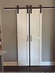 custom pantry doors unique sliding barn door