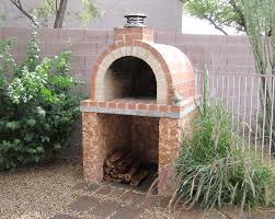 fancy outdoor fireplaces with pizza oven looks efficient article