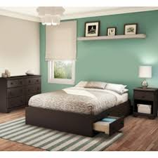 Chocolate Summer Breeze 3 Piece Bedroom Set   Summer Breeze Full Mates Bed,  Double Dresser ... By South Shore