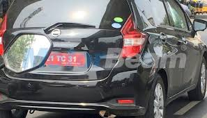 2018 nissan note. interesting nissan nissan note spied on test in india u2013 expected to launch 2018 for nissan note