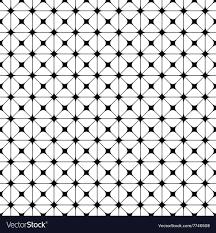 Line Pattern Design Seamless Monochrome Grid Pattern Design