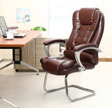 home office arm chair. Bow Shape Computer Chair Home Office Armchair Leather Swivel Free Shipping Arm C