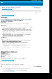 Customer Service Orientation Skills Mississauga On Bilingual Consumer Customer Service Credit
