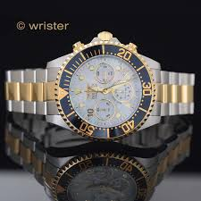 invicta grand diver platinum mother of pearl dial gold ip chrono invicta grand diver platinum mother of pearl dial gold ip chrono 47mm mens watch