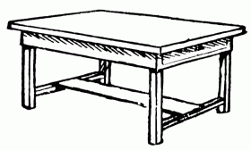 kitchen table clipart black and white. clip art side table clipart kitchen black and white