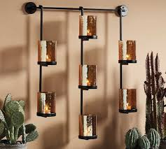 emberly wall mount multi candle holder