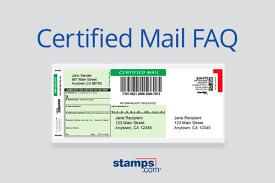 usps certified mail faq sts