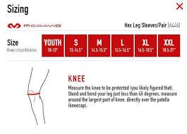 Mcdavid Compression Arm Sleeve Sizing Chart Mcdavid Hex Compression Black Leg Sleeve Pair