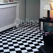 Pisa Black White Elite Tiles Rhino Floor Vinyl Flooring | Best Quality  RhinoFloor Lino | OnlineCarpet Amazing Pictures