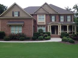 exterior paint colors that go with brickExterior Paint Colors That Go Well With Red Brick  Home Painting