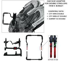 double stroller with car seat double stroller and adaptor double stroller britax car seat compatible contours