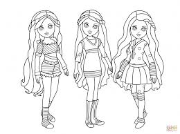 Coloring Pages American Girl Doll Coloring Pages Of Lea Pdf