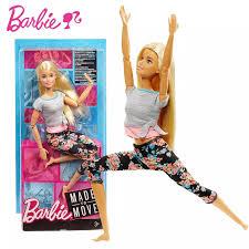 Chính Hãng Chính Hãng Mattel Búp Bê Barbie Thể Thao Thể Dục Yoga Thời Trang  22