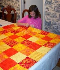 Kids can make a pieced quilt, learn how to make an easy pieced ... & How to sew an easy pieced quilt. Adamdwight.com