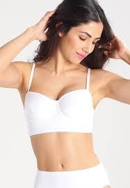 Norma Kamali Bikini Top White Women Clothing Swimwear