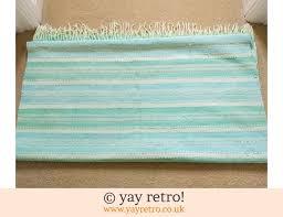 large cotton duck egg blue rug runner 18 50
