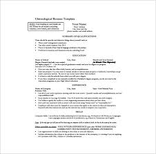 Resume Formats Pdf One Page Resume Template 12 Free Word Excel Pdf Format Download