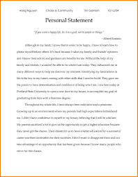 business personal statement examples case statement  2 business personal statement examples
