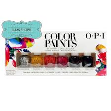 Opi Mini Color Paints Collection Blendable Nail Lacquer Summer