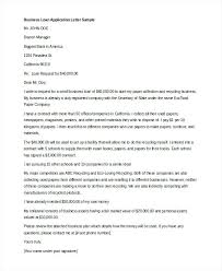 Business Loan Application Letter Template From Company To