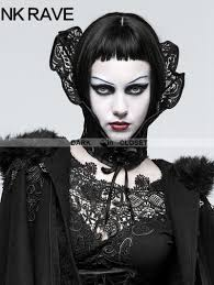 <b>Punk Rave</b> Black <b>Gothic</b> Queen <b>Positioning</b> Lace Scarf ...