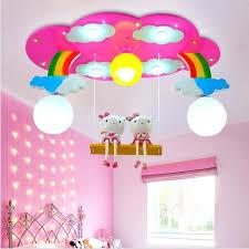 girl room lamp modern cartoon ceiling light kids bedroom bulb light fittings led lamp for children girl room lamp