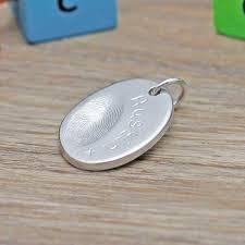 fingerprint necklace fingerprint necklaces diddy digits keyring
