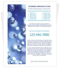Free Cleaning Flyer Templates By Cleaningflyer Com