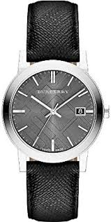 burberry bu9030 38mm stainless steel case black plastic anti burberry bu9030 38mm stainless steel case black plastic anti reflective sapphire men s watch