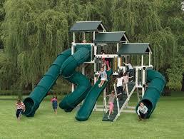 playset slides chutes