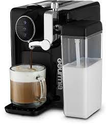 Best gourmet coffee maker can offer you many choices to save money thanks to 20 active results. Amazon Com Gourmia Gcm6500 1 Touch Automatic Espresso Cappuccino Latte Maker Italian Style Coffee Machine Brew Froth Milk Black Kitchen Dining